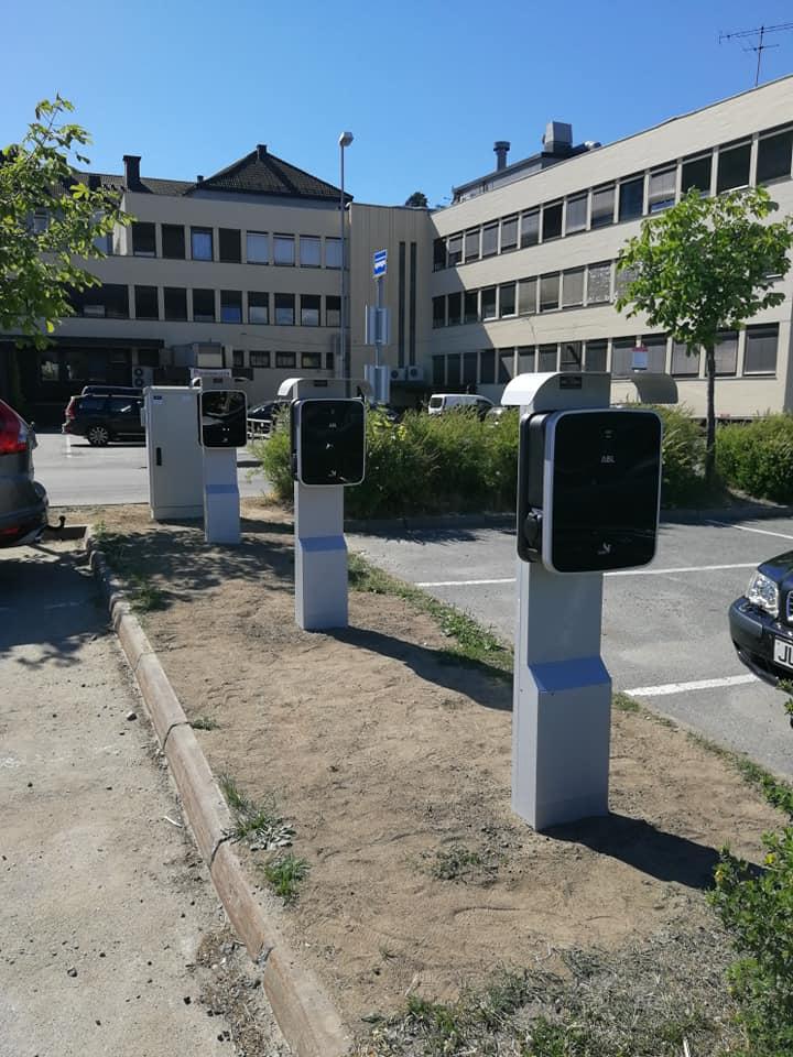 Offentlig parkeringsplass