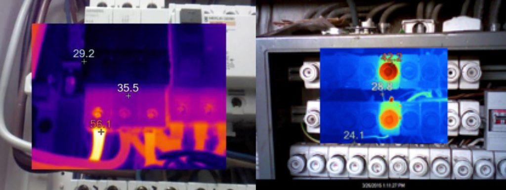 Termografering av sikringer med varmgang